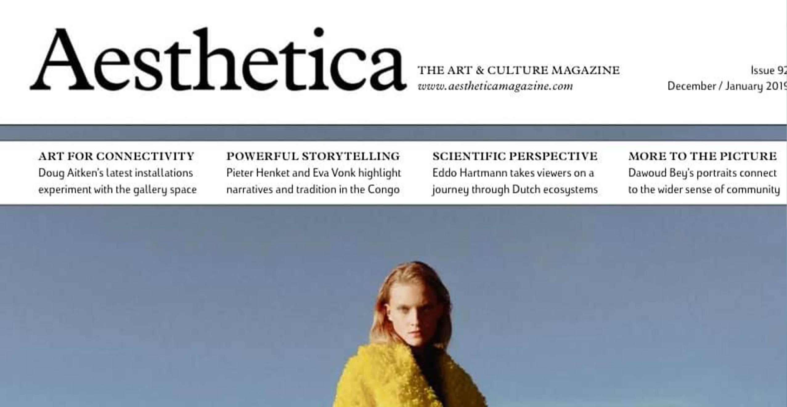 Aesthetica magazin Artist Dictionary
